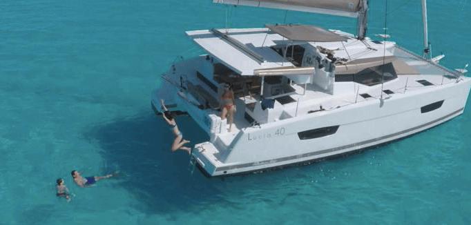 "Catamaran Fountain Pajot 40' ""Sea Energy"""