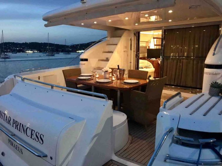 "Princess 65′ ""Distar princess"""